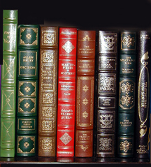 Photo of classic books