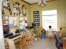 Classroom type home school room