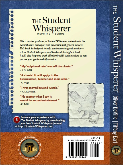 Student Whisperer BackCover