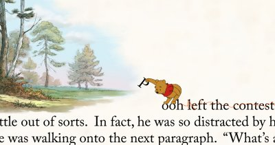 WinnieThePooh distracted