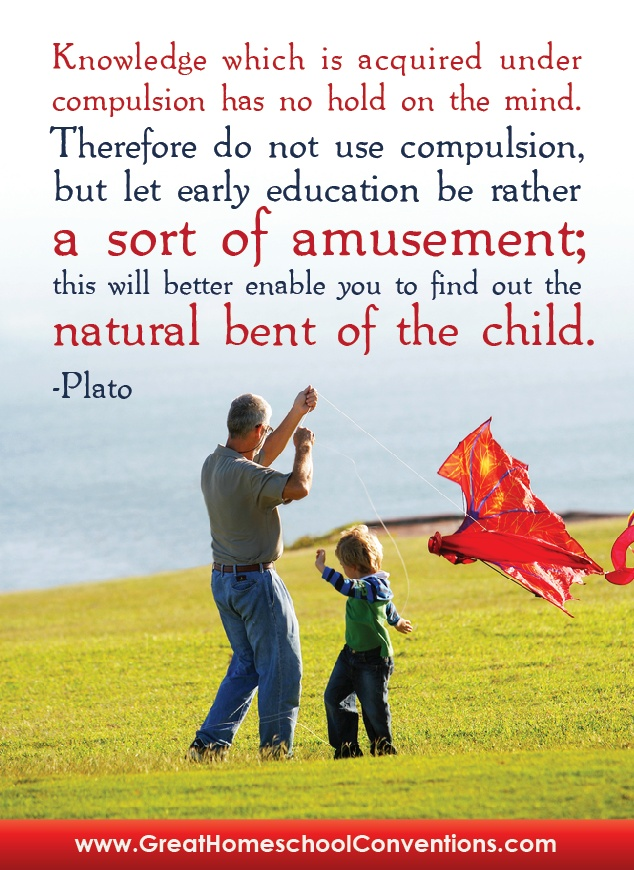Plato quote let amusment be early education